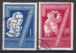 ROEMENIË - Michel - 1959 - Nr 1790/91 - Gest/Obl/Us