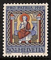 Suisse 1967 - N° 790, Saint Joseph, Religions