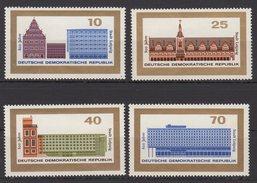 DDR / 800 Jahre Stadt Leipzig / MiNr. 1126-1129