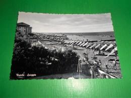 Cartolina Viserba ( Rimini ) - Spiaggia 1955 Ca - Rimini