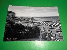 Cartolina Viserba - Spiaggia 1955 Ca - Rimini