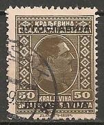 Timbres - Yougoslavie - 1933 - 50 D - N° Y.T. 240 - - 1931-1941 Royaume De Yougoslavie
