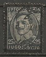 Timbres - Yougoslavie - 1934 - 25 P - N° 263 - - 1931-1941 Royaume De Yougoslavie