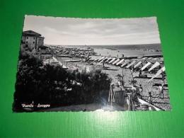 Cartolina Viserba ( Rimini ) - Spiaggia 1950 Ca - Rimini
