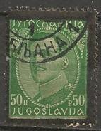 Timbres - Yougoslavie - 1934 - 50 P - N° 264 - - 1931-1941 Royaume De Yougoslavie