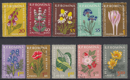 ROEMENIË - Michel - 1959 - Nr 1814/23 - Gest/Obl/Us