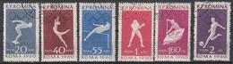 ROEMENIË - Michel - 1960 - Nr 1847/52 - Gest/Obl/Us