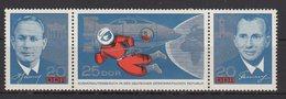 DDR / Besuch Sowjetischer Kosmonauten / MiNr. 1138-1140