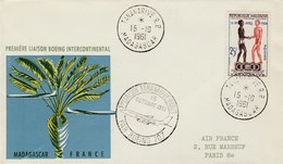 Madagascar - Première Liaison Tananarive-Paris - 1961 - Air France
