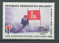 Malagasy - Madagascar 1981 Olympic Games Lake Placid Stamp MNH