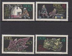 DDR / 200 Jahre Bergakademie Freiberg / MiNr. 1142-1145