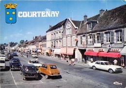 45-COURTENAY- LA PLACE DU MARCHE - Courtenay