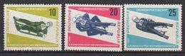 DDR / Rennrodel-Weltmeisterschaften, Friedrichroda (Thüringen) / MiNr. 1156-1158