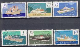 ROEMENIË - Michel - 1961 - Nr 1972/77 - Gest/Obl/Us