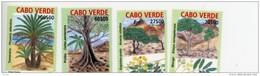 Cap Vert-Cabo Verde-2004-Arbres Indigènes-813/16**MNH - Kap Verde