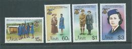 Nevis 1985 Girl Guides Set 4 MNH