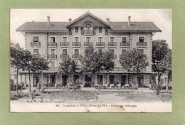 URIAGE LES BAINS  HOTEL DES ALBERGES