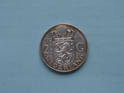 1960 - 2 1/2 Gulden / KM 185 ( Details Zie Foto ) ! - 1948-1980 : Juliana