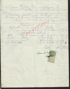 FACTURE DE 1934 LAFAND PIERRE ENTREPRENEUR DE TRAVAUX PUBLICS À LEZOUX : - Petits Métiers