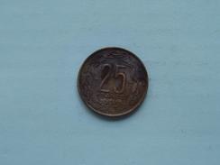 1958 - 25 Francs / KM 12 ( Details Zie Foto ) ! - Cameroon
