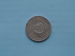 2010 - 10 EURO ( Zilver / Silver / Argent 10 Gram ) GUADELOUPE ( Details Zie Foto ) !