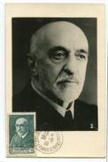 !!! CARTE MAXIMUM JEAN CHARCOT CACHET PLEIN JEU 26/8/1938 - REF A2 - Maximum Cards