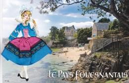 CARTE BRODEE : LE PAYS FOUESNANTAIS ,