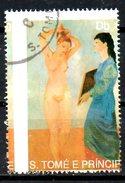 St THOMAS. N°1010 Oblitéré De 1990. Tableau De Picasso. - Picasso