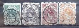 NEDERLAND    1899   Nr. 77 - 80         Gestempeld   CW  762,00