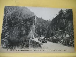 B7 5053 - 20 GHISONI - DEFILE DE L'INZECCA - ROCHERS DES PORTES - LE SAUT DE LA MARIEE - 1932 - AUTO - France
