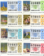 "Classe Ouverte "" 47 Phares "", (Loteria Nacional De España) Differents Voir 6 Scan"
