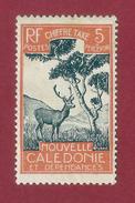 Nouvelle Caledonie - 5 C - 1928 - New Caledonia