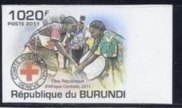 Burundi Nobel Red Cross Croix Rouge Imperf