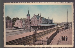 HAL - HALLE -  La Gare -De Statie - Halle