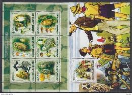 P40 Guinea-Bissau - MNH - Plants - Mushrooms - Birds - Scouts - 2005