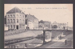 Hal-Halle.  Le Pont Du Canal à L'entree De La Ville - Halle