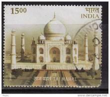 2004 India Used, Taj Mahal, Architecture Monument, UNESCO Heritage Theme,
