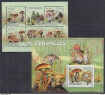 R40 Guinea-Bissau - MNH - Plants - Mushrooms - 2010