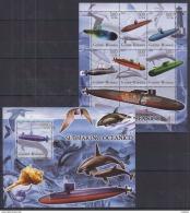 R40 Guinea-Bissau - MNH - Transport - Submarines - 2005