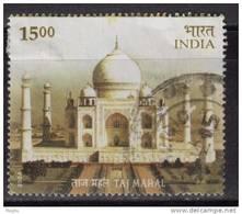 2004 India Used, Taj Mahal, Architecture Monument, UNESCO Heritage Theme, (sample Image)