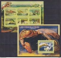 S40 Guinea - MNH - Animals - Prehistorics - 2009