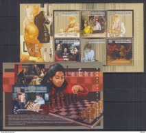 T40 Guinea - MNH - Games - Chess - 2010