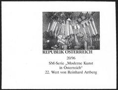 Austria/Autriche: Prova Per La Stampa, Proof For Printing, épreuve Pour L'impression, Dipinto Di R. Arteberg, Peinture D