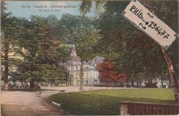 38 Uriage-les-Bains - Cpa / Un Coin Du Parc.