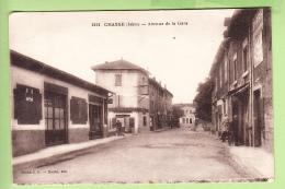 CHASSE - Avenue De La GARE - Vue Différente - Peu Courant - Ed. Roche - 2 Scans - France