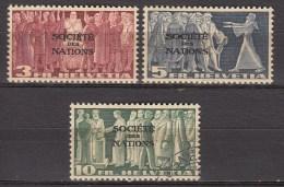 Zwitserland-Dienst-Service SDN 1939 Michel 65-66 Xx Postfr/MNH/VF,67 Used/VF 1 Scans  [432  ]