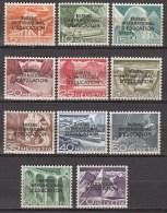 Zwitserland-Diens-Service  BIE/IBE 1950 Michel  29-39 Xx MNH/Postfr/VF ,see 1 Scans [476  ]