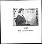 Austria/Autriche: Prova Per La Stampa, Proof For Printing, épreuve Pour L'impression, Paula Von Preradovic, Europa CEPT