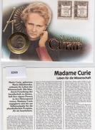 Pologne 1967 Fdc Et Médaille Commémorative Marie Curie (01838)