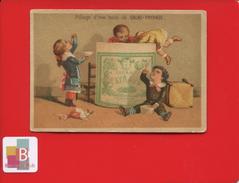 Cacao PAYRAUD Rare Chromo Exposition Universelle 1872 Comptoir Venezuela Pillage Boîte  Chocolat BASTER VIEILLEMARD - Chocolat